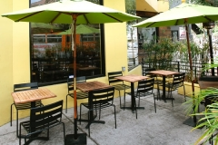West Hollywood outdoor seating