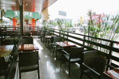 Westwood restaurant exterior seating